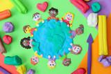 Fototapety Die Welt gehört in Kinderhände