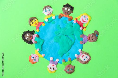 Den Kindern gehört die Welt Poster