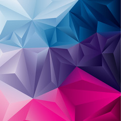 Edgy abstract background. Vector illustration.
