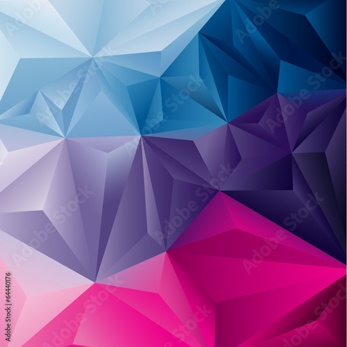 Edgy abstract background. Vector illustration. - 64440176