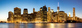Fototapety Panorama of New York City Manhattan skyline