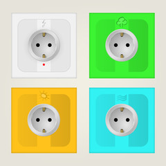 Illustration of eco sockets