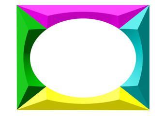 renkli çerçeve