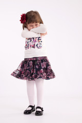 Little girl preschooler model