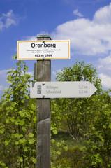 Wegweiser Orenberg