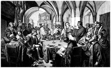 Religious Debate - 16th century