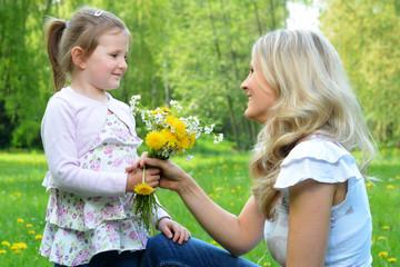 Blumen zum Geschenkt