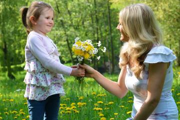 Blumen für Mutti