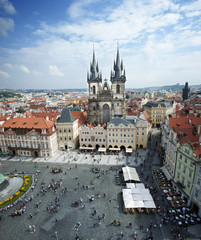 Old town square in Prague (Praha) XL