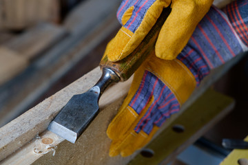 carve with a chisel