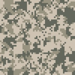 digital camo vector pattern