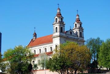 Church of St. Raphael the Archangel in Vilnius