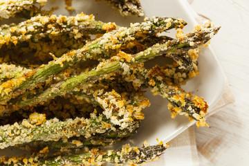 Homemade Panko Breaded Asparagus