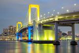 Rainbow bridge Tokyo - 64448544