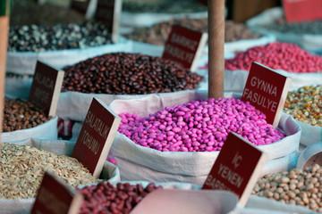 Graines alimentaires marché turc