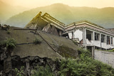 Damage Buildings of Wenchuan Earthquake,Sichuan