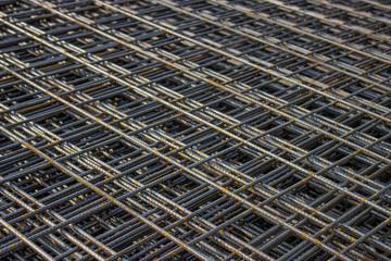 Stack of rebar grids