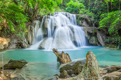 Waterfall in deep forest of Thailand - 64451793