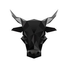 origami black bull symbol