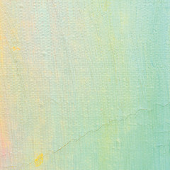 Oil paint background, bright ultramarine blue, yellow, pink