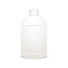 Scouring Cleaning Cream Gel Plastic Bottle
