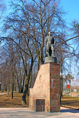 Monument to Soviet soldiers of World War II