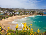 Fototapety Crescent Bay of Laguna Beach, Orange County, California USA