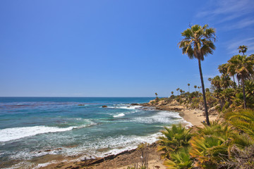 Heisler Park in Laguna Beach, Southern California