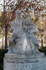 Waldmüllerdenkmal von Josef Engelhart