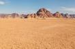 Leinwanddruck Bild - Wadi Rum