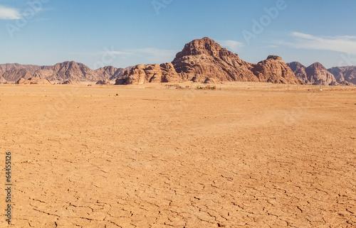 Leinwanddruck Bild Wadi Rum