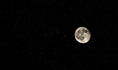 Mond im Wagen