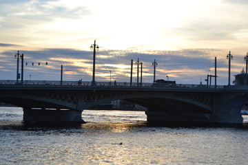 Annunciation Bridge at sunset