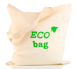 Eco bag, isolated on white
