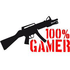 100 % Shooter Waffe Killer eSport