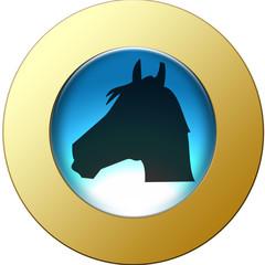 Médaillon tête de cheval