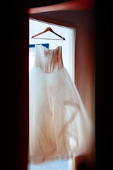 Wedding dress in house readdy for the big d day
