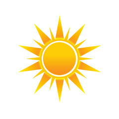 Shinny Sun image logo icon