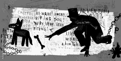 Человек и собака © moypapaboris