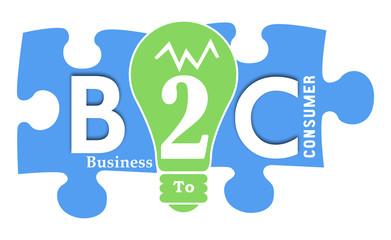 B2C colorful Shapes