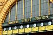 Leinwandbild Motiv Flinders Street Station  - Melbourne