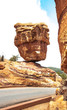 """Balanced Rock"" at the Garden of the Gods, Colorado Springs, Col"
