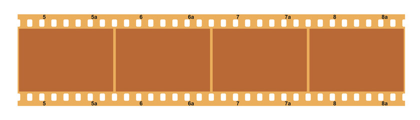 Filmstreifen, Farbfoto Negativ