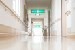 Leinwanddruck Bild - 福祉施設の廊下