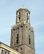 Tower of the church (Peperbus) from 1454 in Zwolle