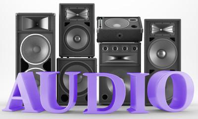Altavoces - Audio