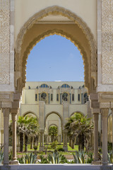 Islamic and arabic Architecture in Casablanca, Morocco