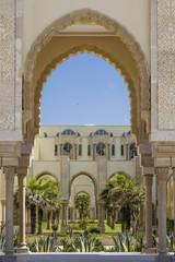 Islamic and arabic Architecture in Casablanca, Morocco