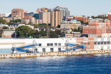Cruise Ship Terminal in Halifax