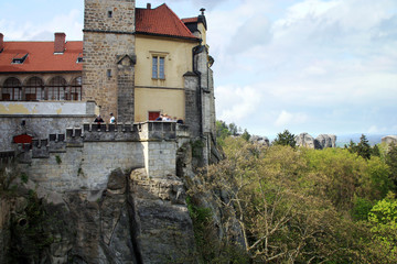 Castle Hruba Skala in Czech Republic.